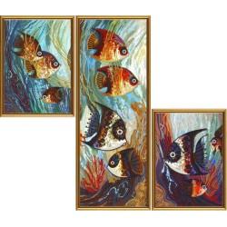 гоблен-DK6575 Морски свят