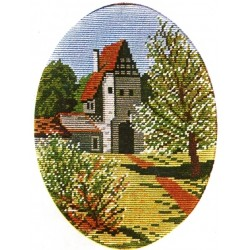 Гоблен-Пейзаж 1347 р-ри-20/26,1/4,дмц конци