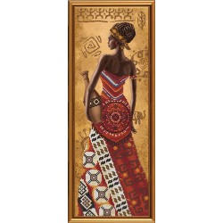 гоблен-HD2076 Африканка със стомна
